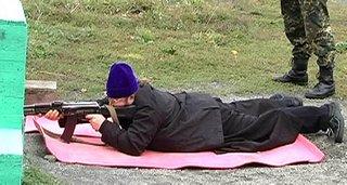 Священнослужители Плейсера проходят обучение по стрельбе