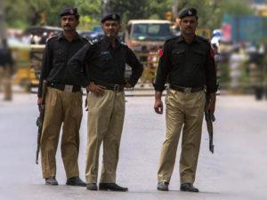 Полиция в Пакистане