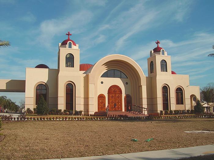 Строительство христианских церквей в Египте