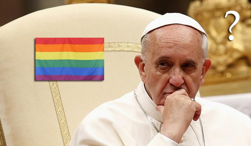 Папа римский считает неверным преподавать теорию гендеров в средней школе
